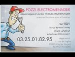 Photo POZZI ELECTROMENAGER