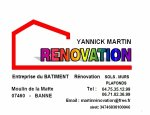 MARTIN YANNICK RENOVATION 07460
